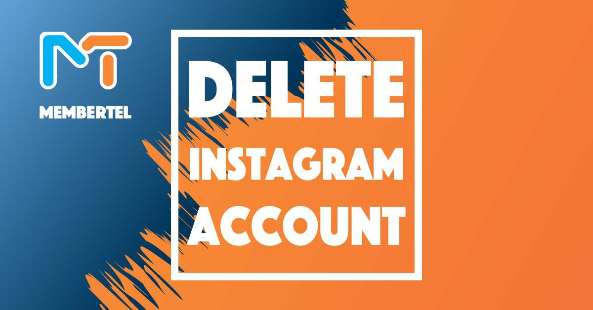how to disable or delete instagram account