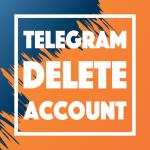 how to delete telegram account