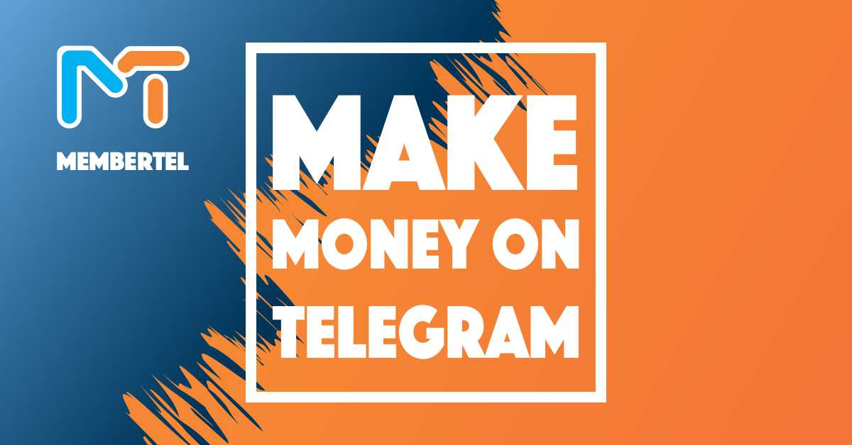 how to make money on telegram